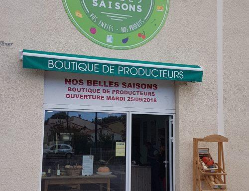 Ouverture magasin Nos Belles Saisons à Llupia